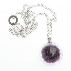 Antica Murrina Shine #Pendant - Amethyst #jewellery #murano