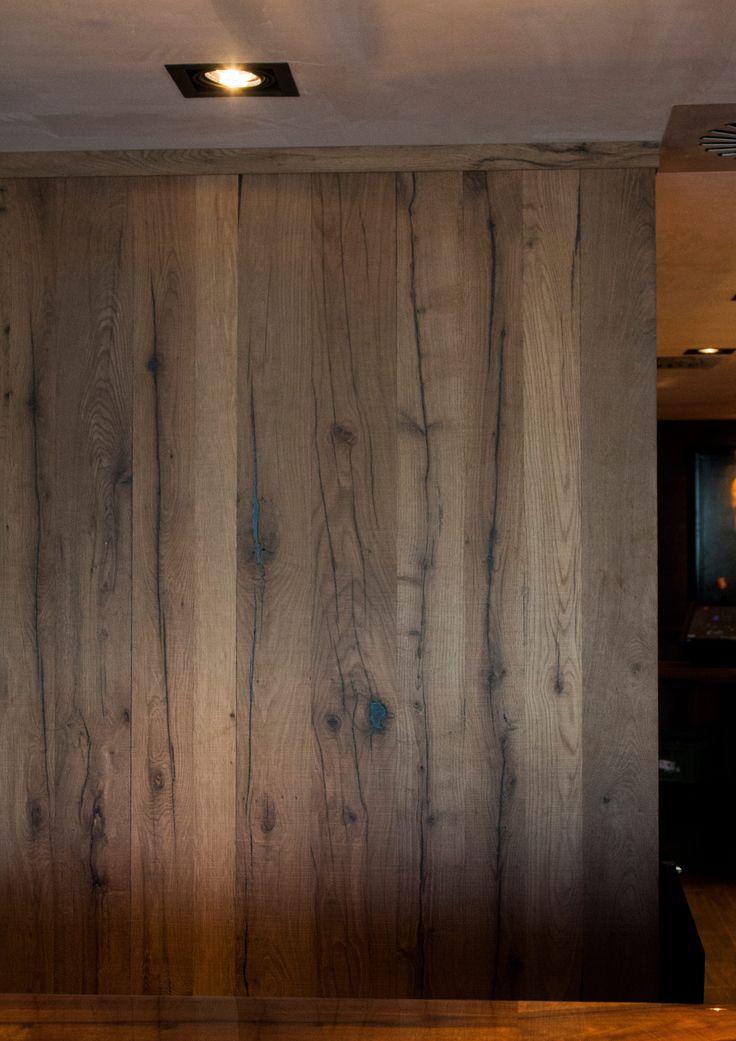 Decospan Querkus Vintage Hoboken Veneer wood interior design hotel