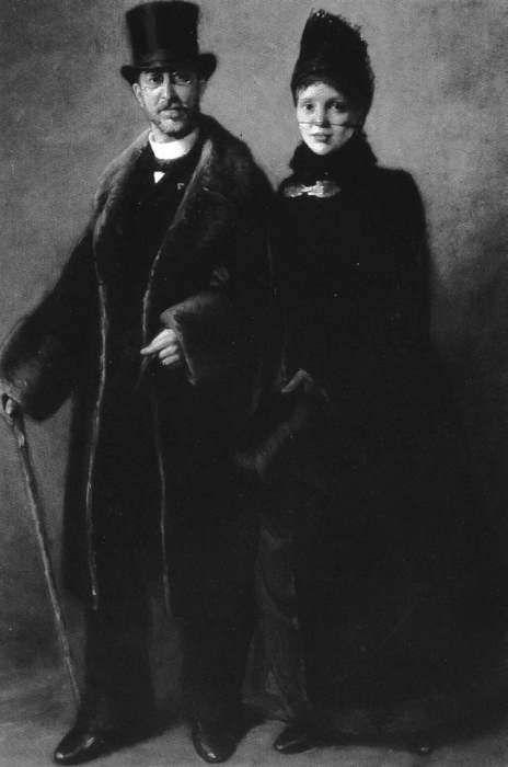 """"""" thereminsoul: Ερρίκος και Σοφία Σλήμαν — Heinrich Schliemann and his wife Sophia Schliemann """""""