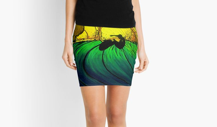 """FEATURED: / • Polynesian Travel photography 1/24 / Inspired by a brilliant photograph in  / Taylor Steele's classic surf movie 'Sipping Jetstreams'. / Liquitex Artist Acrylic paints  / on 24""""x 30""""x 1.5""""  / Winsor & Newton Canvas • Also buy this artwork on apparel, stickers, phone cases, and more."""