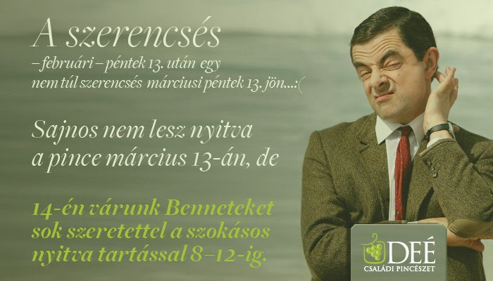 Winery ad with #Mr. Bean.