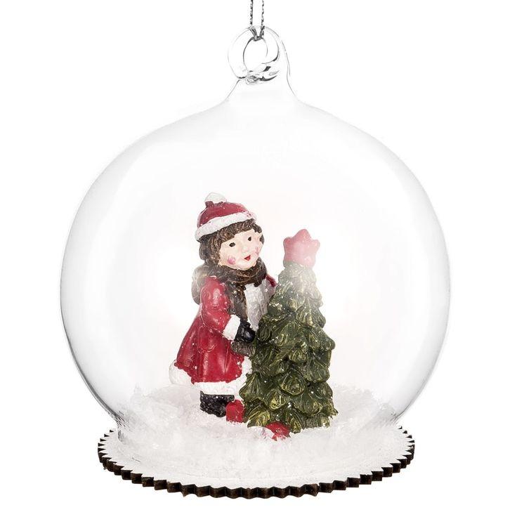 Durchsichtige Glaskugel mit Figur im Schnee Jetzt bestellen unter: https://moebel.ladendirekt.de/weihnachten/christbaumschmuck/?uid=4a4fd9ad-a68a-55ff-84a4-ec6b3d8933d8&utm_source=pinterest&utm_medium=pin&utm_campaign=boards #weihnachten #christbaumschmuck