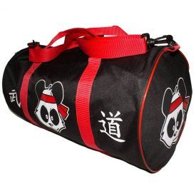 If you're tired of showing up to your martial arts class late because you were hunting for your sparring gear pieces, then you may need to start leaving a few minutes earlier...Or you could add one of these Martial Arts Panda Gear Bags to your cart and keep all of your gear in one place.Decorated with a colorful Panda design and oriental kanji, this durable vinyl gear bag will handle the stress of travel like a champ. So stop showing up late to class. Add the Martial Arts Panda Gear Bag to…