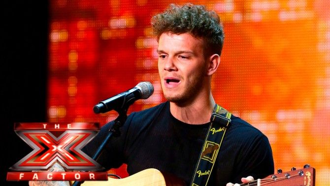 'X Factor's' Ellis Lacy Reveals His Full Talent In Series Of Racy Pics