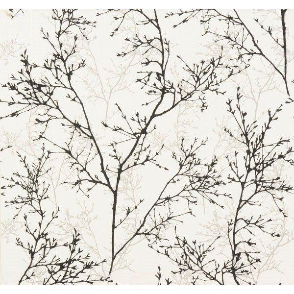 Tapet Area Björk 10 m x 53 cm Non-woven - Tapeter - Rusta