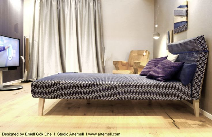 Livingroom / Wohnzimmer / daybed at Vision ID House  designed by Studio Artemell