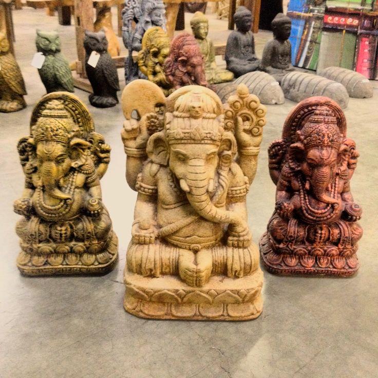 Statues 50% Off! #baliandbeyond #sale #ganesha #hindugod #yyc