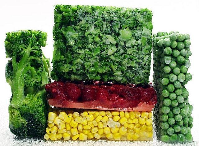 Главные правила заморозки овощей и зелени