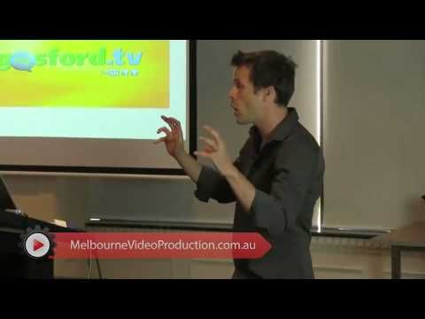 """This video clip gives you a guide on how to edit web videos. David Jenyns recommends on having a professional do this but knowing the basics would be good too.   Need help in editing your videos? We can give you a hand, visit http://www.melbournevideoproduction.com.au/video-seo/video-production-process/"""