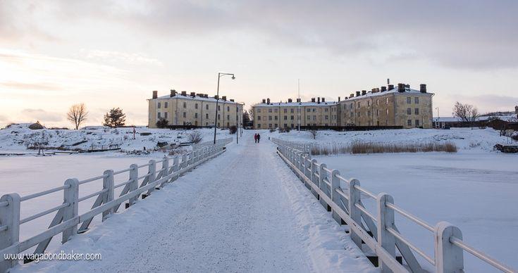 Suomenlinna in Snow