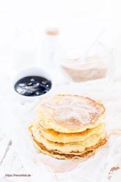 Milchreis Pfannkuchen - Rezept aus der Kategorie Süßspeise oder Fingerfood. Ganz einfach, leicht und schnell zu machen! Resteverwertung vom allerfeinsten. Beste Reste #rezept #milchreis #fingerfood #deutsch