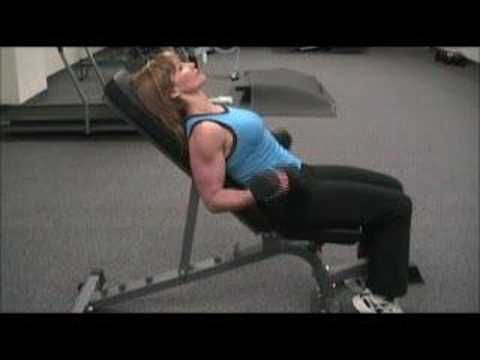 Bicep Exercises - The Incline Dumbbell Bicep Curl - YouTube