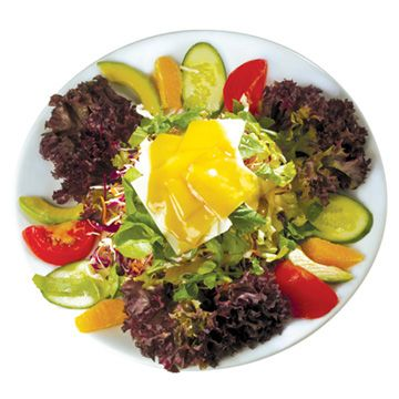 Nammos salad, made exclusively with #OleaJuiceEVOO