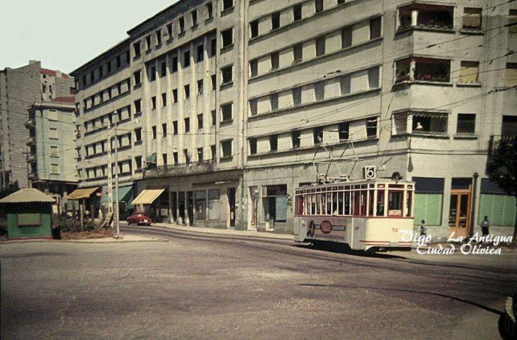 Un tranvía en el año 1962