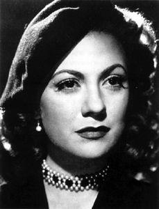 María Antonieta Pons 1922-2004. Cubana que actuó en el cine mexicano