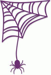 Silhouette Online Store - View Design #49761: cobweb corner