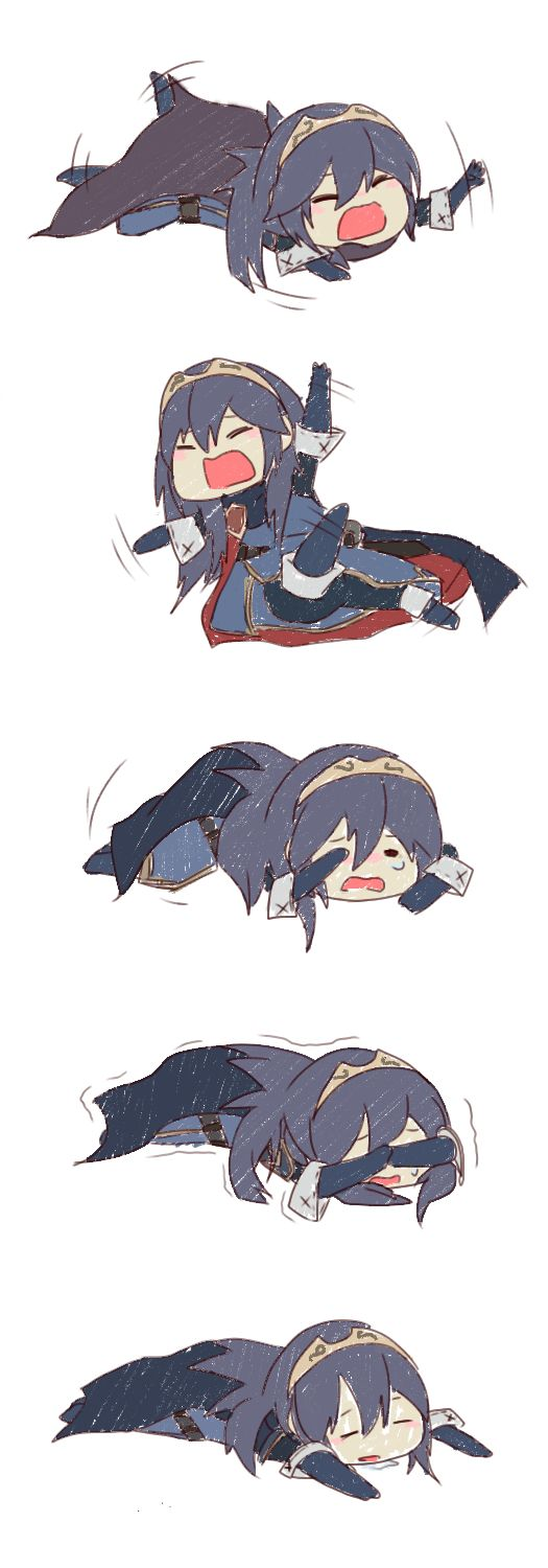 Fire Emblem Awakening - Lucina throwing a tantrum