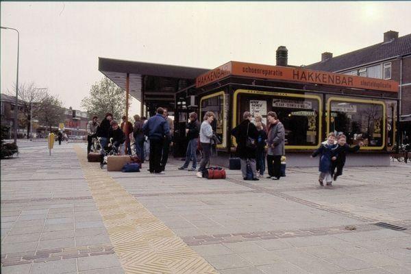 Oude bus station centrum