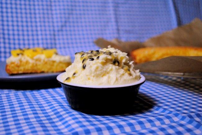 Passion fruit cream / Marakujowy krem maślany
