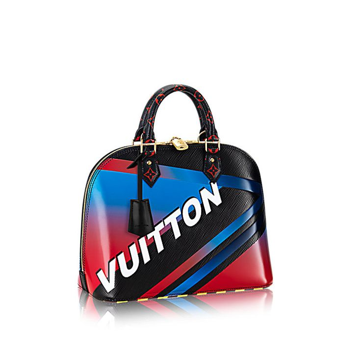 Discover Louis Vuitton Alma PM: The emblematic ladylike Alma shape has been reinterpreted into the sporty & graphic design of the