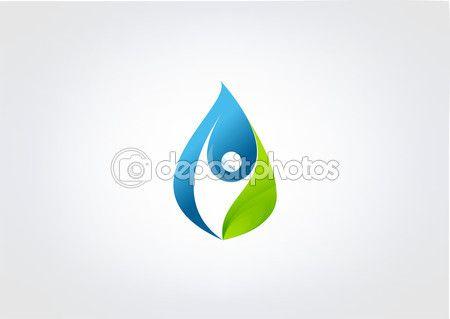 Водный символ символа снижения healty бизнес sucses человеческое резюме — Векторное изображение © Black83 #57120941