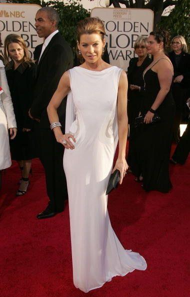 Ellen Pompeo in Versace - Fashion Flashback: 2007 Golden Globes Red Carpet  - Photos