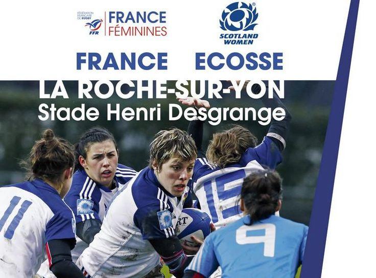 RUGBY : Nos Bleues à Nantes en séance publique pour démarrer le Tournoi des VI Nations - Starting Girl - 04/02/2015