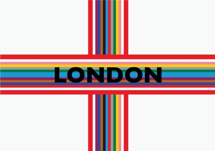 """La """"bandiera di Londra"""" disegnata da Louisa Fitch di Sugarway.  Strano ma Londra (Come trasferirsi e vivere all'estero) di Mattia Bagnoli - La prima di una serie di guide dedicate ai """"cervelli in fuga"""" - In libreria e in ebook http://www.fazieditore.it/Libro.aspx?id=1232"""