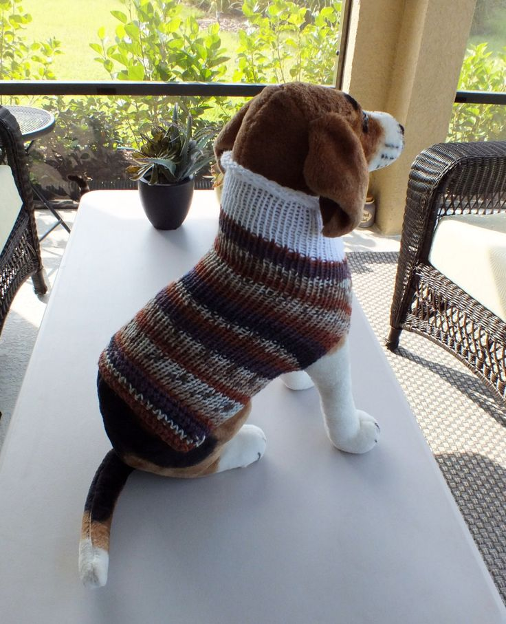 625 best Hand Knit Pet Sweaters images on Pinterest | Arm knitting ...