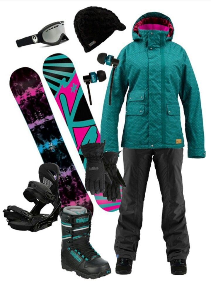 Snowboarding gear. This makes me miss snowboarding in Tahoe.