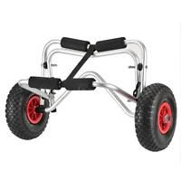 New Boat Kayak Canoe Carrier Dolly Trailer Tote Trolley Transport Cart Wheel Hot
