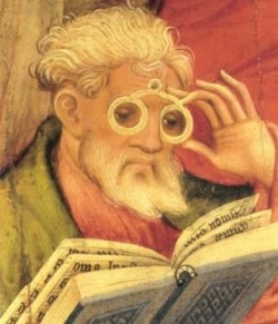 #Magnifying #devices have been around since #AncientEgypt .: History, Medieval Eyeglasses, Reading Eyeglasses, Glasses Eyeglasses, Book, Eyeglasses Inventor, Eyeglasses A Ei