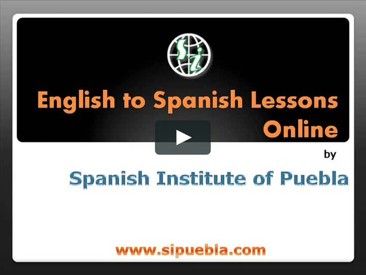 How to learn English to Spanish Lessons Online? Watch this video for complete information.