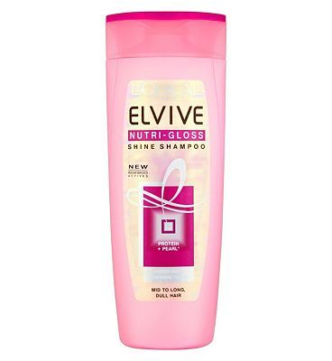 Loreal LOral Paris Elvive Nutri-Gloss Shine Shampoo 12 Advantage card points. To help revive your hairs brilliance, LOreal have developed Elvive Nutri-Gloss Shampoo, with Pearl Protein. Nutri-Gloss nourishes hair, without weighing it down. Your hairis  http://www.MightGet.com/february-2017-1/loreal-loral-paris-elvive-nutri-gloss-shine-shampoo.asp
