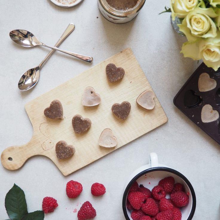 Vegan Valentine Chocolate Truffles
