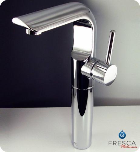 Fresca-Mazaro-Single-Hole-Vessel-Mount-Bathroom-Vanity-Faucet-Chrome-Finish