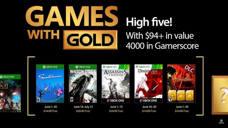 Xbox One/360 Games w Gold - June 2017 #LavaHot http://www.lavahotdeals.com/us/cheap/xbox-360-games-gold-june-2017/204637?utm_source=pinterest&utm_medium=rss&utm_campaign=at_lavahotdealsus