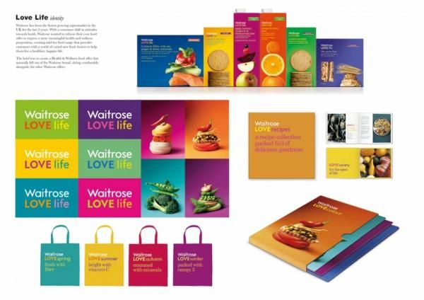 WAITROSE LOVE LIFE, Waitrose Supermarket, Pearlfisher London, Waitrose, Print, Outdoor, Ads