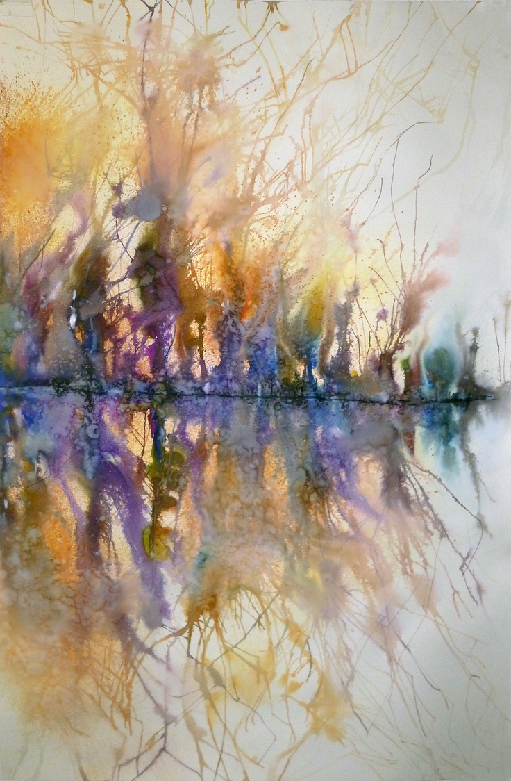Fine watercolor art for sale - Cf 1 Aguarela Sobre Papel 150x100 2012 ___ Available For Sale ___ Mail