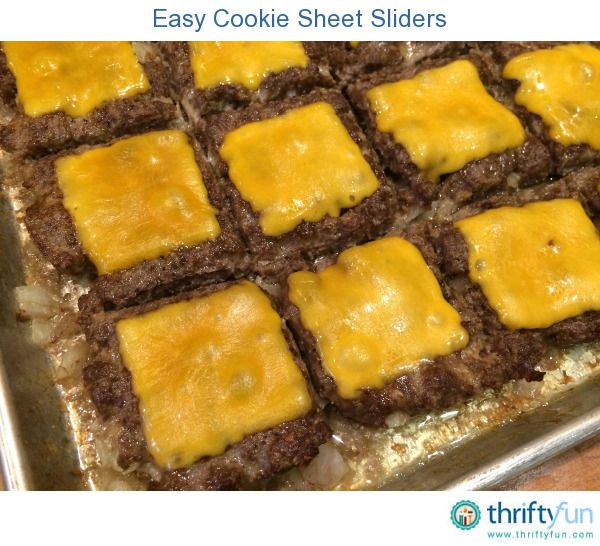 This is an easy way to make sliders for a large group. We made them for the Super Bowl and they were a huge hit!