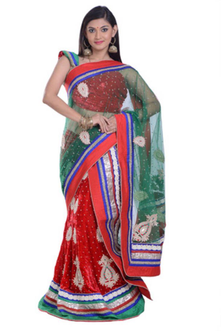 Shop Lehenga Saree Online from Mirraw.com