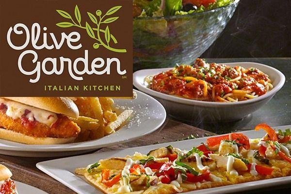 Olive Garden Coupon: Order Olive Garden Online