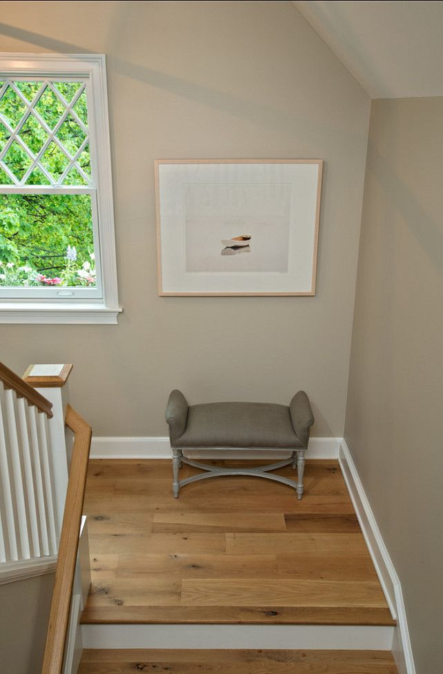 Hardwood Floor Ideas: This is white oak hardwood floors with an white oil finish. #Hardwood #Floors