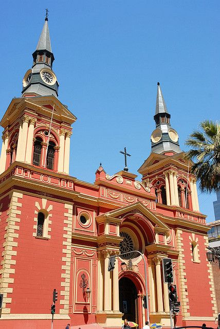 Basilica de la Merced, on Calle Merced and Maclver, Santiago, Chile. via flickr. by StevenMiller