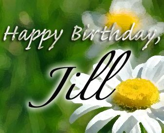 Happy Birthday Cake Jill Images