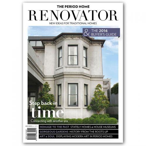The Period Home Renovator Magazine 2016 $9.95