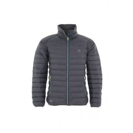 K-WAY MEN'S DRAKE DOWN JACKET: Thin channel down jacket with a water-resistant, cire and downproof finish and 650-fill power.