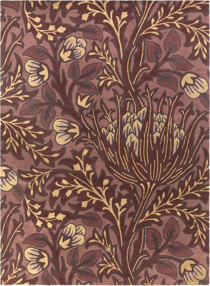 William Morris WLM-3006 Clearance Rug from the Clearance Rugs collection at Modern Area Rugs