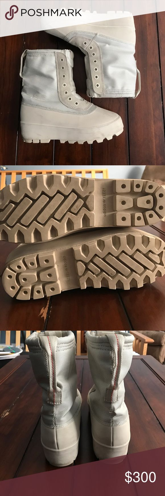 Adidas Yeezy 950 Very good condition with minimal wear throughout the shoe. They are 100% authentic and have them Legit Checked by two reliable sources. They are missing the laces, and the right insole, which is reflected in the asking price! Feel free to ask questions and make offers Shoes