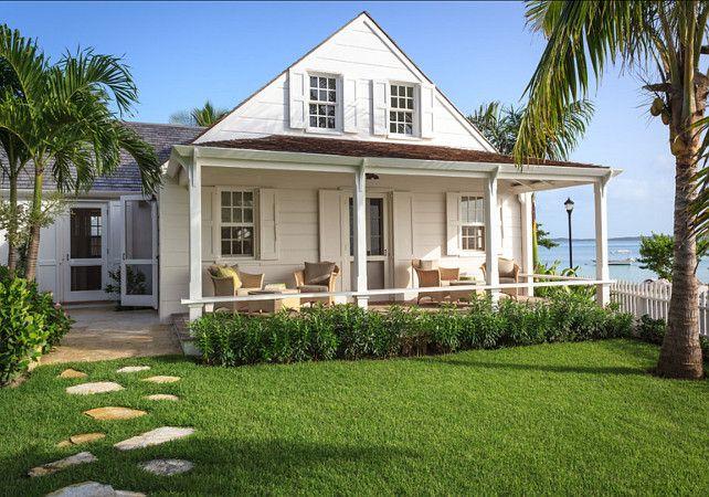 Cottage. Beach Cottage Ideas. Dream beach cottage in the Bahamas. #BeachCottage #Cottage